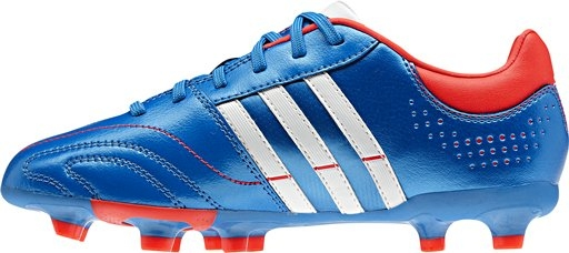 Adidas 11Nova TRX FG Youth Soccer Cleats (Bright Blue/Running White /Infrared)