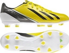 Adidas Youth F30 TRX FG Soccer Cleats (Vivid Yellow/Black/Green Zest)
