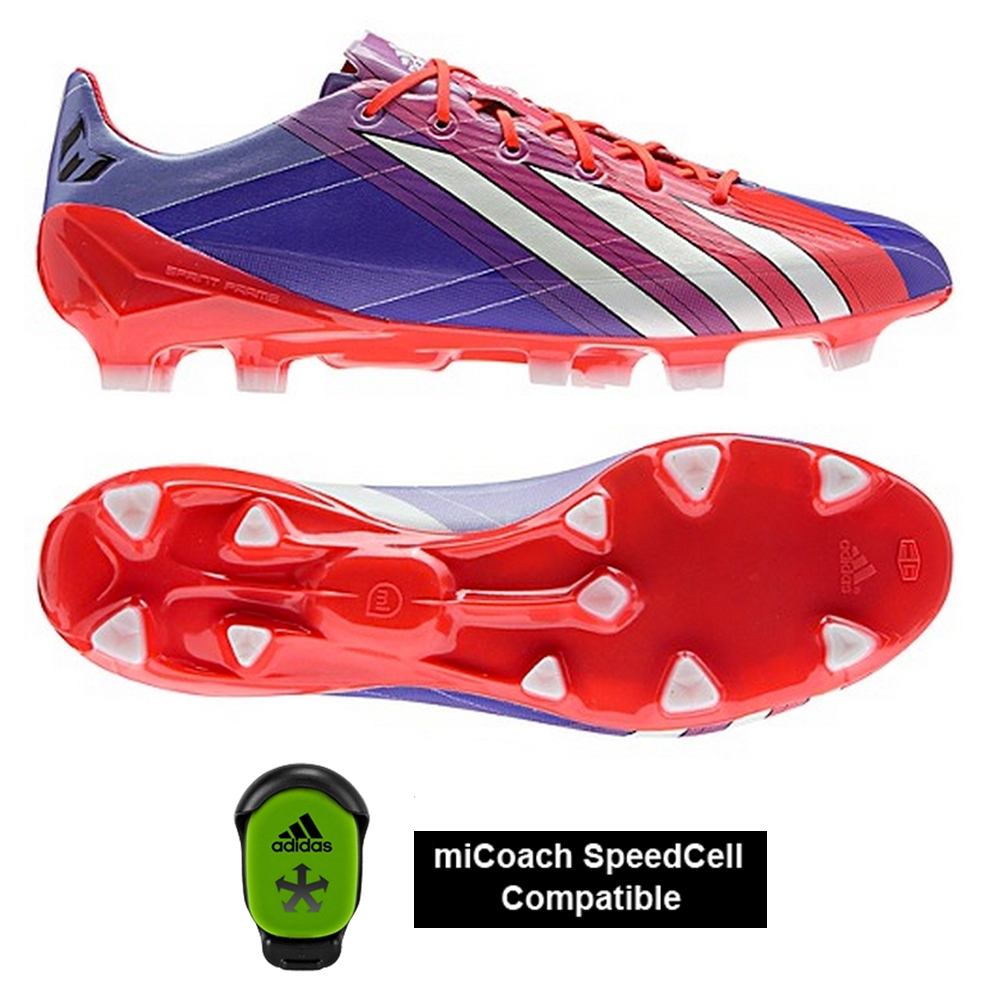 timeless design e44e0 32c21 Adidas Soccer Cleats  FREE SHIPPING  Adidas G96448   Adidas Messi F50  adizero (Synthetic