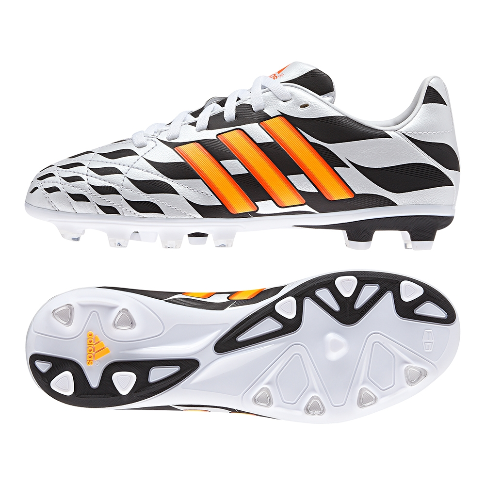 the best attitude f2a9b a136a Adidas 11Nova Battle Pack TRX FG Youth Soccer Cleats (Core WhiteSolar Gold