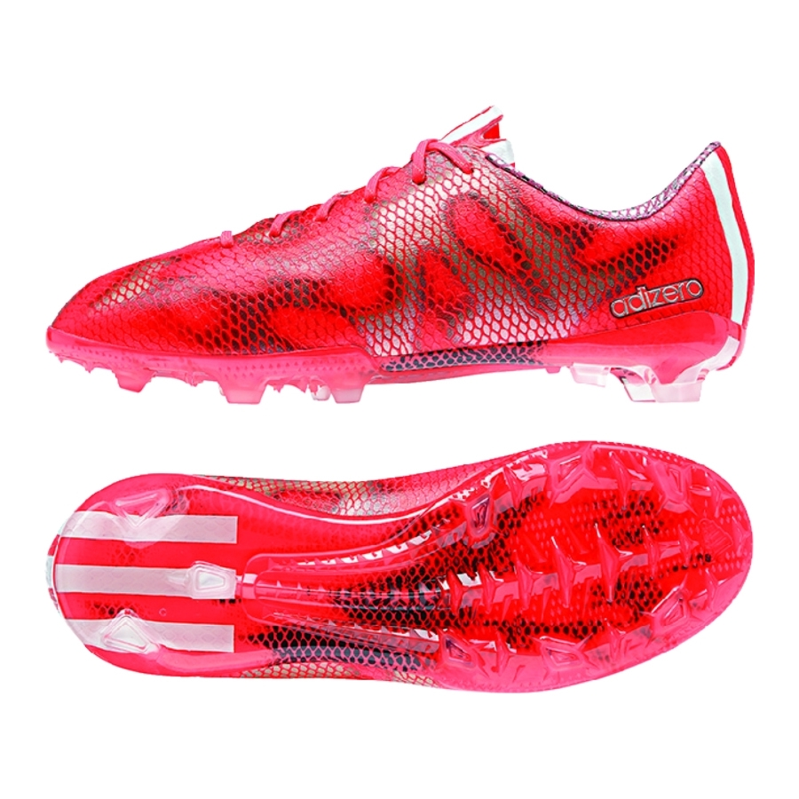 loopschoenen enorme verkoop innovatief ontwerp Adidas F50 adizero (Synthetic) Youth TRX FG Soccer Cleats (Solar Red)