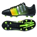 Adidas Nitrocharge 3.0 TRX FG Youth Soccer Cleats (Black/Silver Metallic/Solar Gold)