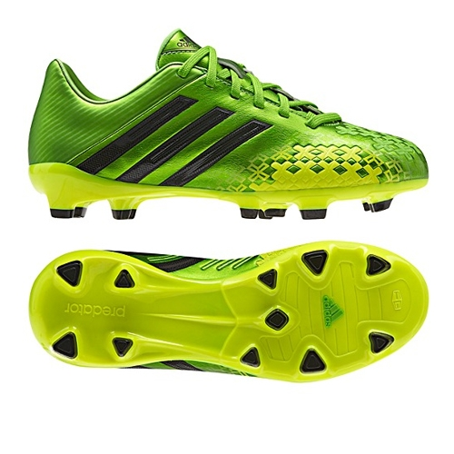 promo code 54f9e 946cb Adidas Predator Absolado LZ TRX FG Youth Soccer Cleats (Ray GreenBlack)