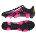 Adidas X 15.3 Youth FG/AG Soccer Cleats (Black/Shock Pink/Solar Gold) |  Adidas Soccer Cleats |FREE SHIPPING| Adidas S74637 |  SOCCERCORNER.COM