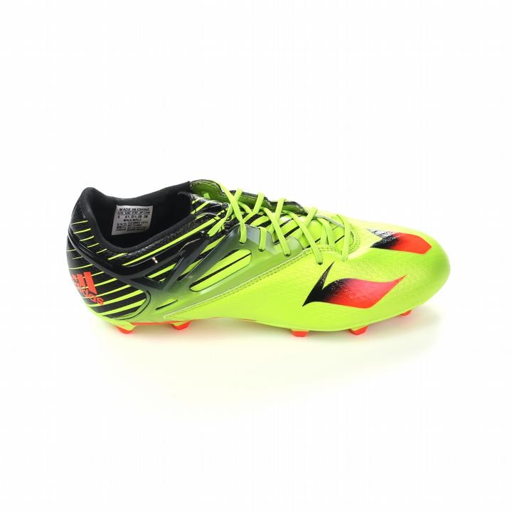 20792c60a1d9 Adidas Messi 15.1 Youth FG AG Soccer Cleats (Semi Solar Slime Solar Red  Black)