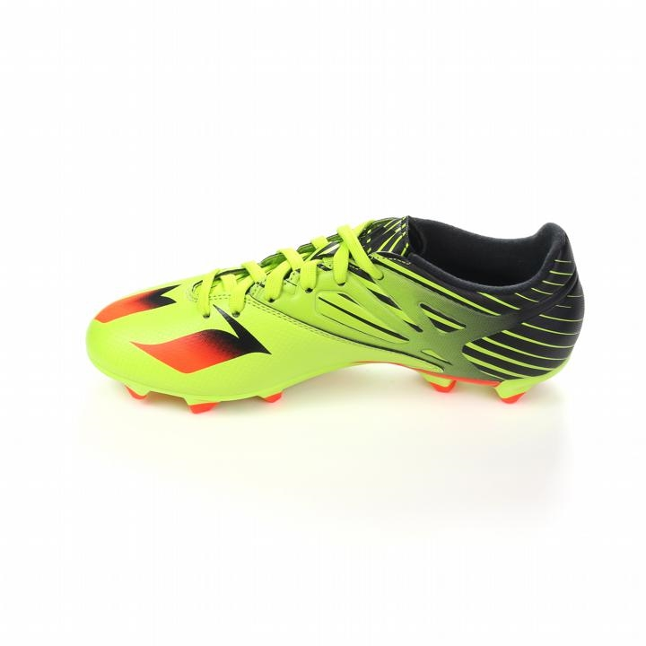 4c1e058c828a Adidas Messi 15.3 Youth FG AG Soccer Cleats (Semi Solar Slime Solar Red  Black)