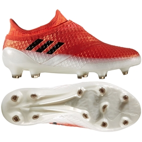 0243b5d8c Adidas Messi 16+ PureAgility Youth FG Soccer Cleats (Red Black White ...