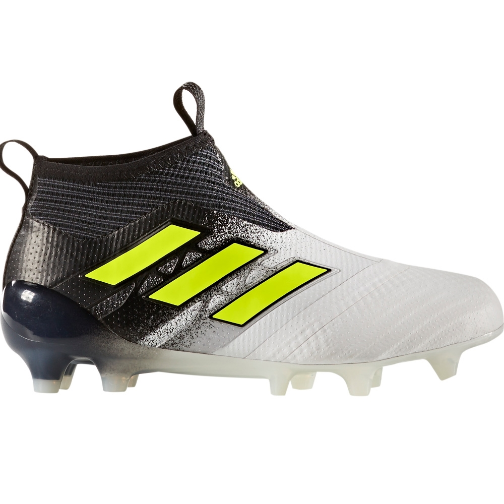 buy popular 0cec0 214d7 Adidas ACE 17+ Purecontrol Youth FG Soccer Cleats (WhiteSolar YellowCore