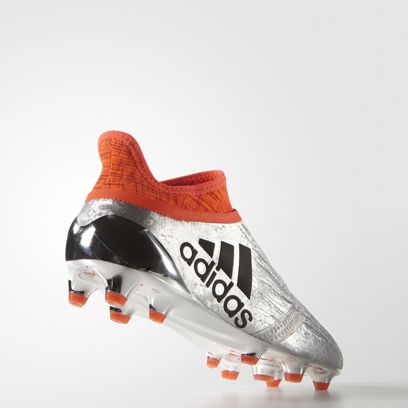 977bd7775567 Adidas X 16+ PureChaos Youth FG Soccer Cleats (Silver Metallic Core Black Solar  Red)