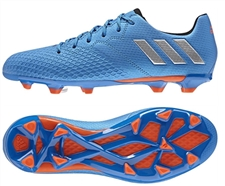 Adidas Messi 16.3 Kids Soccer Cleats in Blue  | Adidas S79622 |  SOCCERCORNER.COM