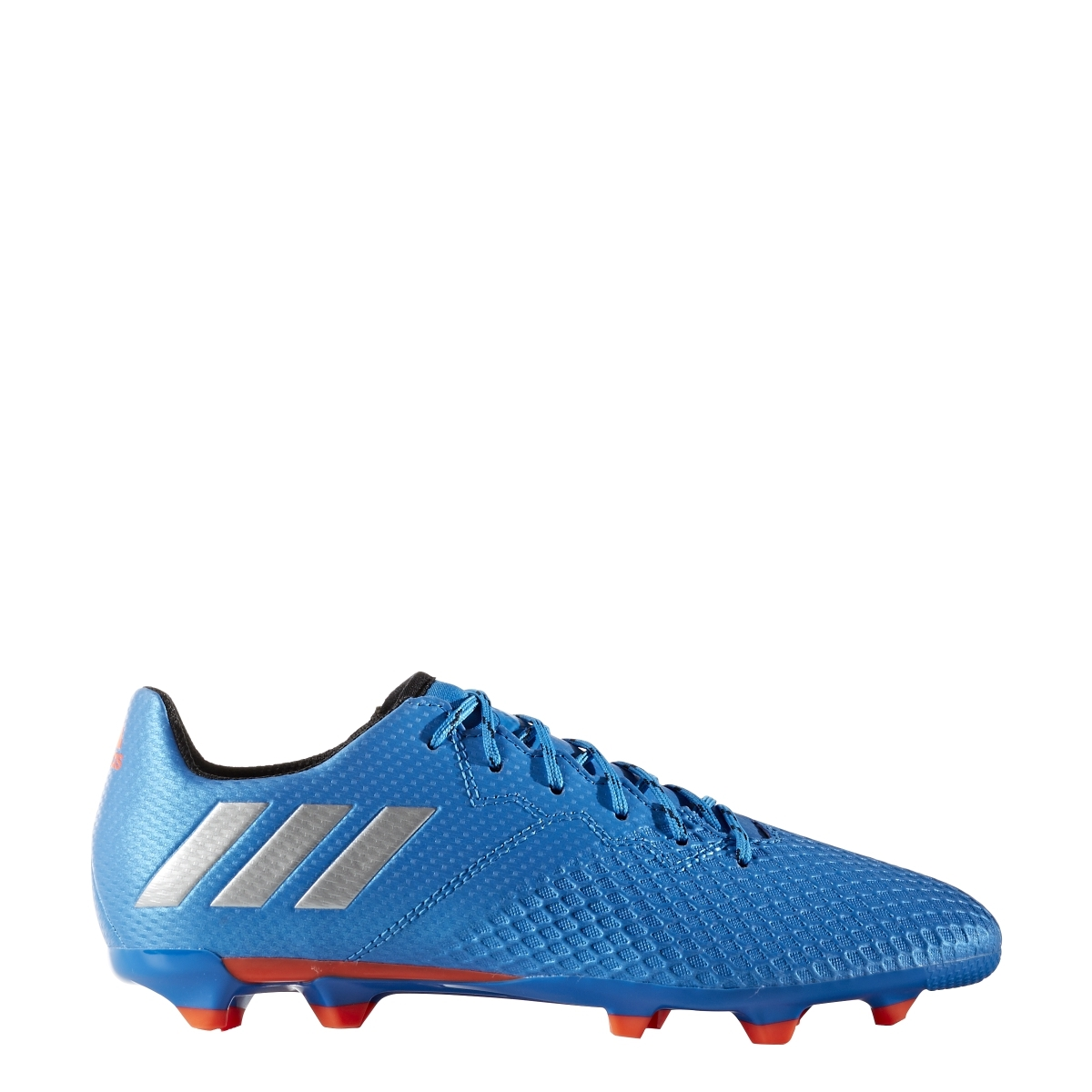 bea31b7b15ab Adidas Messi 16.3 Youth FG Soccer Cleats (Shock Blue/Silver Metallic ...