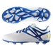 Adidas Messi Youth 15.3 FG/AG Soccer Cleats (White/Prime Blue/Black)