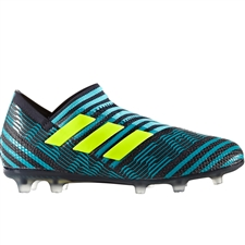 Adidas Nemeziz 17+ 360Agility Youth FG Soccer Cleats (Legend Ink/Solar Yellow/Energy Blue) |  Adidas Soccer Cleats |FREE SHIPPING| Adidas S82411 |  SOCCERCORNER.COM