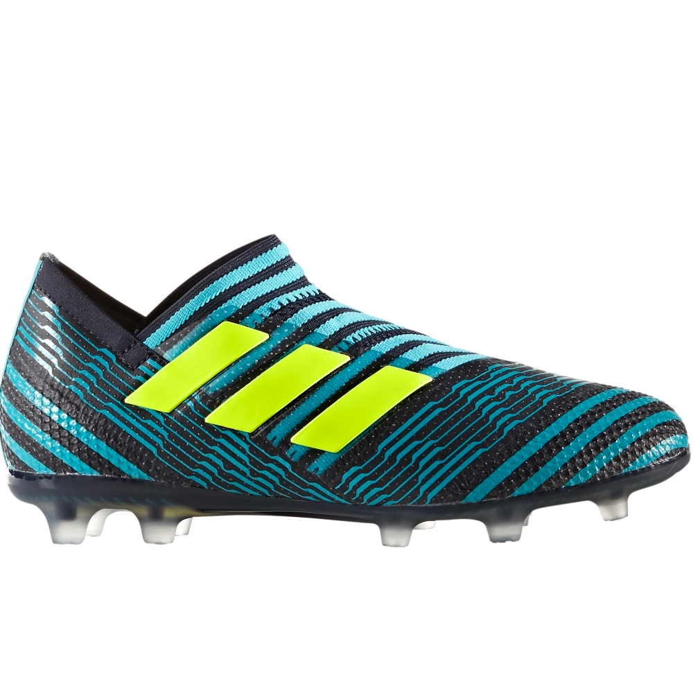 3532603211b4 Adidas Nemeziz 17+ 360Agility Youth FG Soccer Cleats (Legend Ink Solar  Yellow