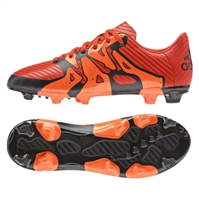 Adidas X 15.3 Youth FG/AG Soccer Cleats (Bold Orange/White/Solar Orange) |  Adidas Soccer Cleats |FREE SHIPPING| Adidas S83182 |  SOCCERCORNER.COM