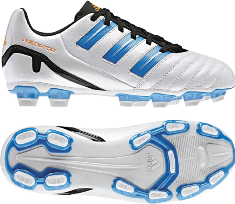 Adidas Predator Absolion Absolion youth soccer cleats en blanco