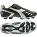 Diadora Capitano MD Youth Soccer Cleats (Black/White/Silver)