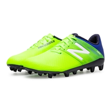 New Balance Furon Dispatch FG Youth Soccer Cleats (Toxic/Pacific/Black)