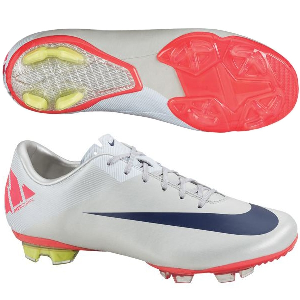 info for the cheapest autumn shoes Nike Mercurial Vapor VII FG Youth Soccer Cleats (Granite/White/Solar  Red/Imperial Purple)