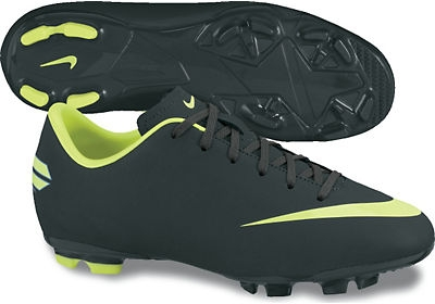 buy popular 95b08 48dd6 Nike Mercurial Victory III FG Youth Soccer Cleats (Seaweed/Volt)