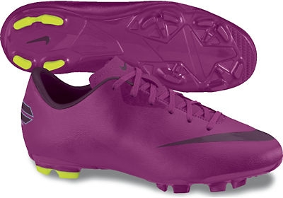 finest selection 49cec 84b41 Nike Mercurial Victory III FG Youth Soccer Cleats (Rave Pink/Atomic  Green/Bordeaux)