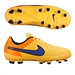 Nike Youth Tiempo Genio FG Soccer Cleats (Laser Orange/Total Orange/Volt/Persian Violet)