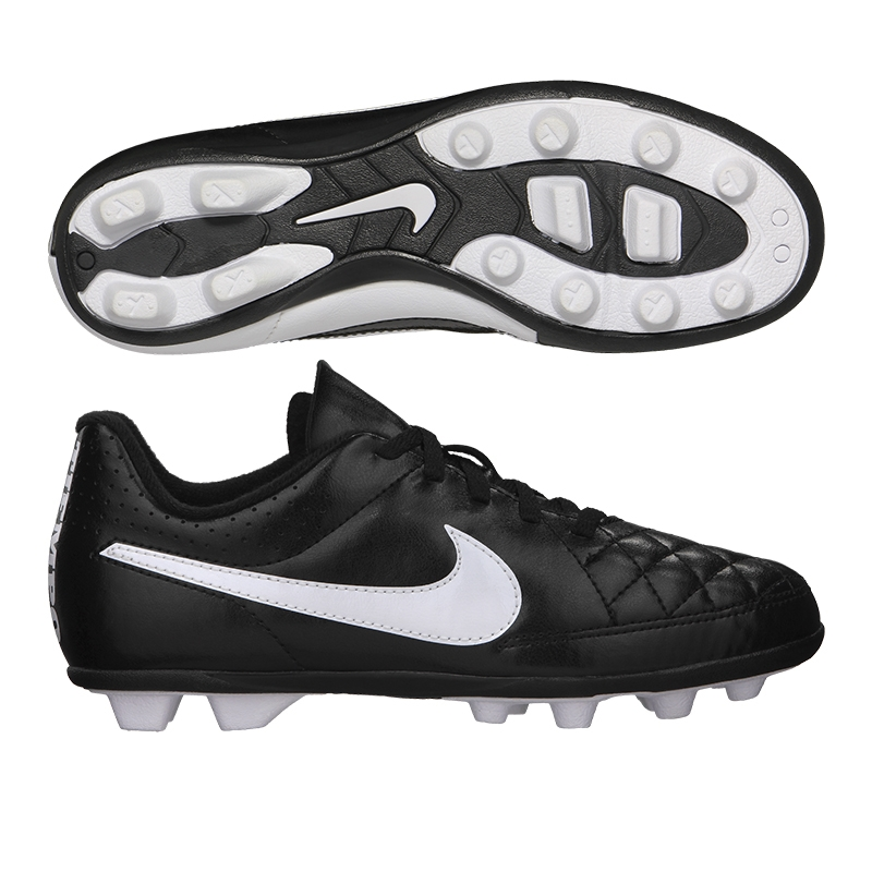 Youth Nike Tiempo Rio FG-R Soccer Cleat 631286 010