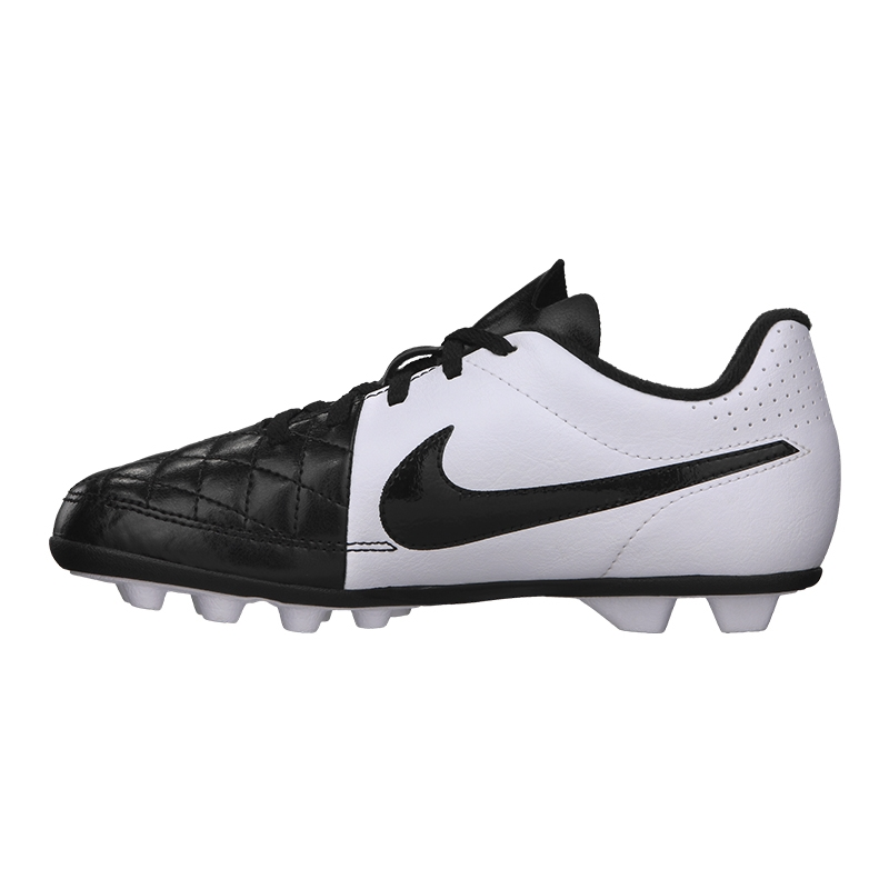 98306645a  31.49 - Nike Tiempo Rio II FG Youth Soccer Cleats (Black White ...