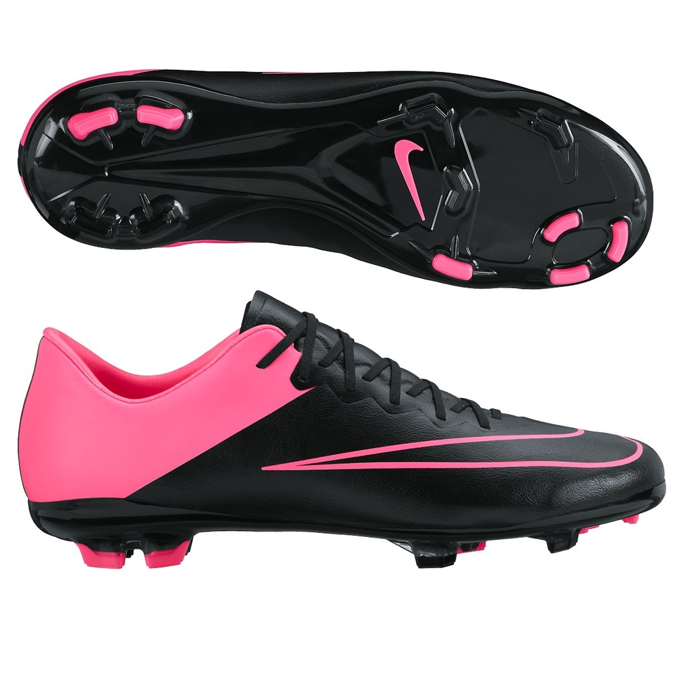 nike girls soccer cleats black and pink cladem