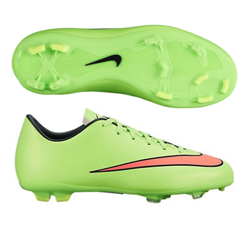46ac95390049 Nike Youth Mercurial Victory V FG Soccer Cleats (Electric Green ...