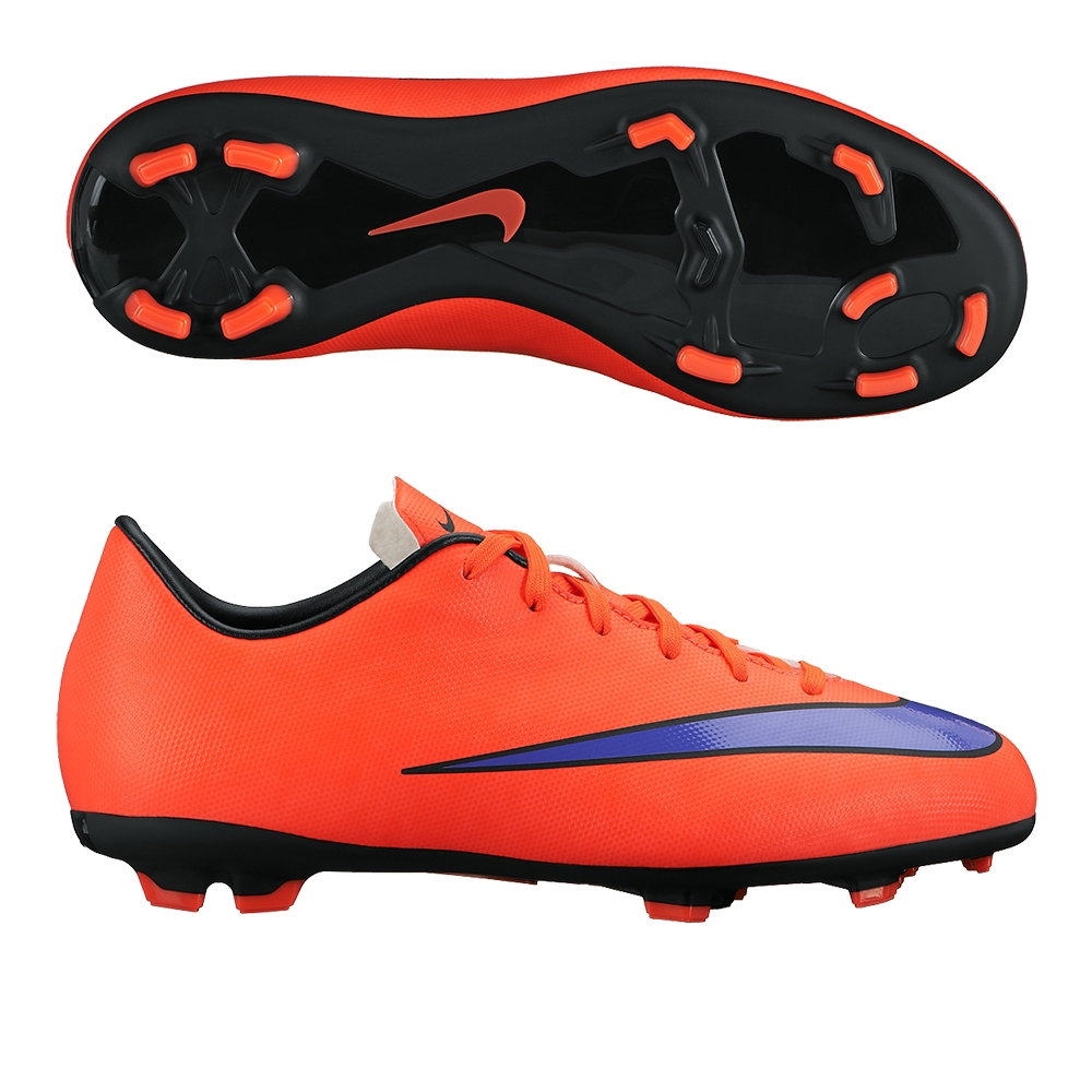 ec4e6bf27 Youth Mercurial Victory V FG Soccer Cleats (Bright Crimson Persian ...