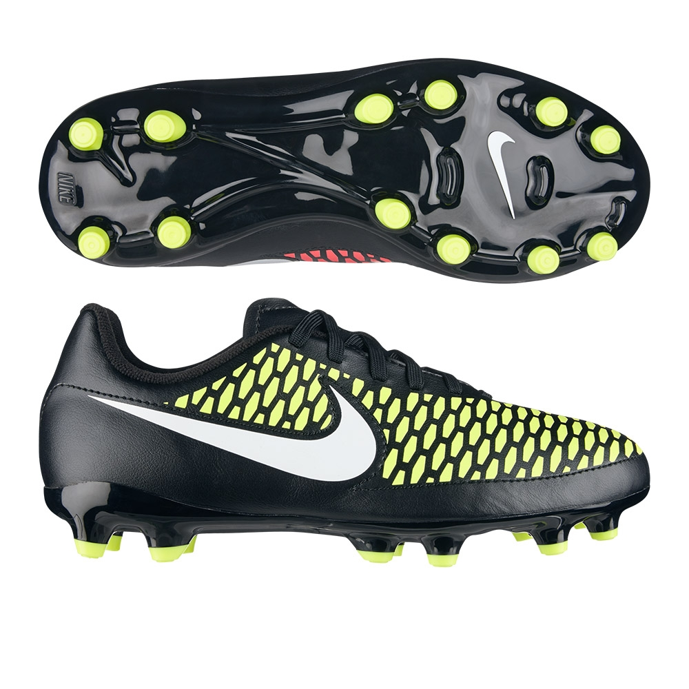 07d776d03cc16 Nike Magista Onda FG Youth Soccer Cleats (Black/White/Volt/Hyper ...
