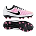 Nike Youth Magista Onda FG Soccer Cleats (White/Pink Blast/Volt/Black)