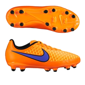 Nike Magista Onda FG Youth Soccer Cleats (Total Orange/Laser Orange/Hyper Punch/Persian Violet)