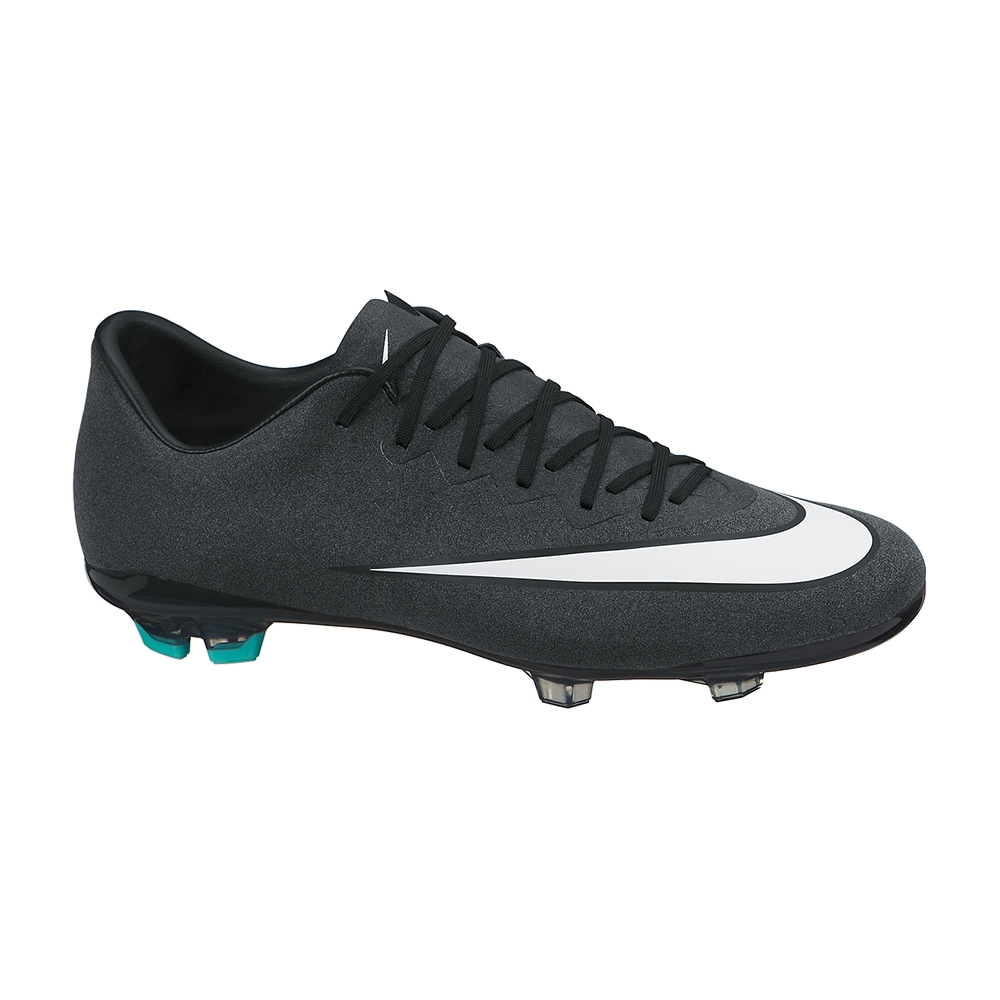 best service fc6be cccbf Nike Mercurial Vapor X CR7 FG Youth Soccer Cleats (Black)