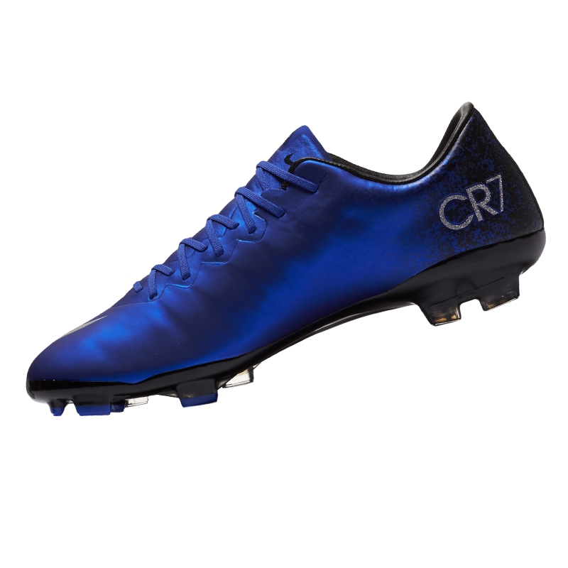 Mercurial Vapor X CR7 FG Youth Soccer Cleats (Deep Royal Blue Racer ... 403312059