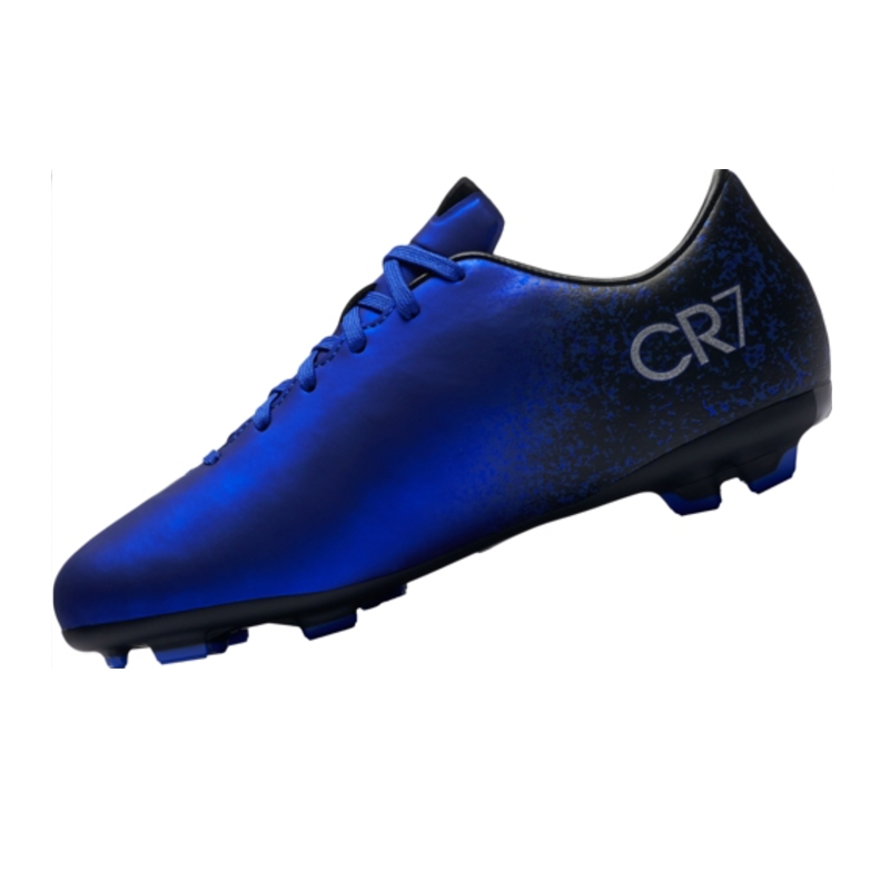 huge discount 11a44 d1dd7 Nike Mercurial Victory V CR7 FG Youth Soccer Cleats (Deep Royal Blue/Racer  Blue/Black/Metallic Silver)