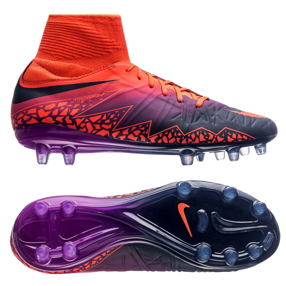 66c000396f26 Nike Youth Hypervenom Phantom II Soccer Cleats (Total  Crimson/Obsidian/Vivid Purple) | Youth Soccer Cleats | 747215-845 | Nike  Hypervenom Phantom Youth ...