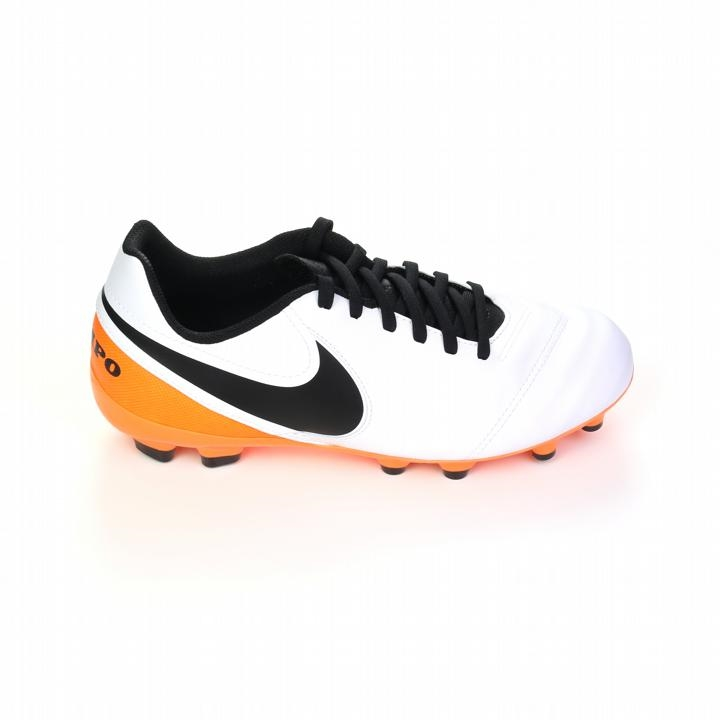 64e418926239 Tiempo Legend VI Youth FG Soccer Cleats (White/Total Orange/Black ...