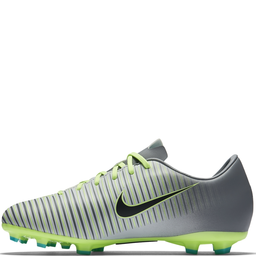 sale retailer 1f52f 5a335 Nike Youth Mercurial Vapor XI FG Soccer Cleats (Pure Platinum Black Ghost  ...