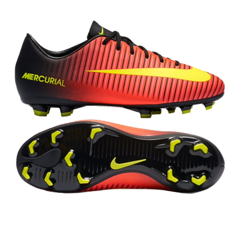 5645451ca0e1 Nike Youth Mercurial Vapor XI FG Soccer Cleats (Total Crimson Volt ...