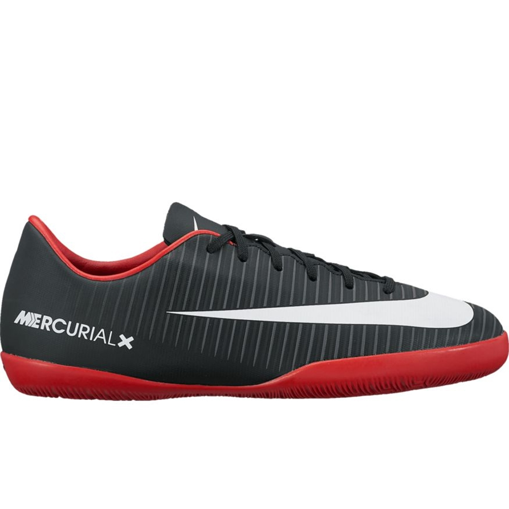Nike Youth Mercurial Vapor XI IC Indoor Soccer Shoes (Black White ... da461d954