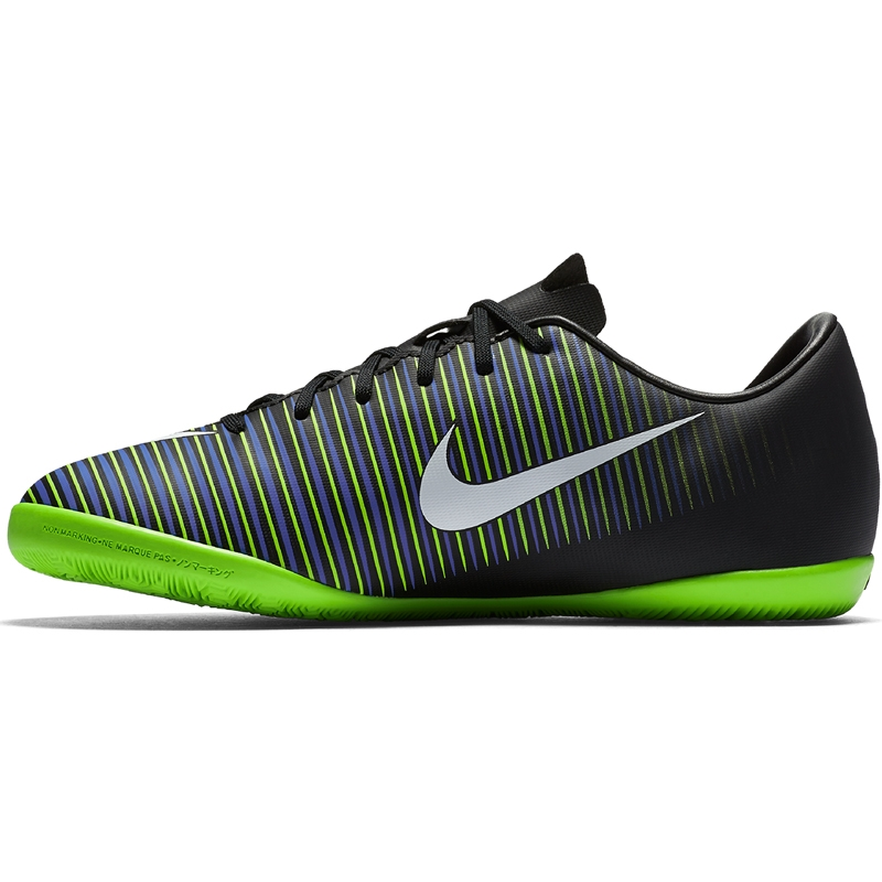 889de4d17 Nike Youth Mercurial Vapor XI IC Indoor Soccer Shoes (Black/White ...