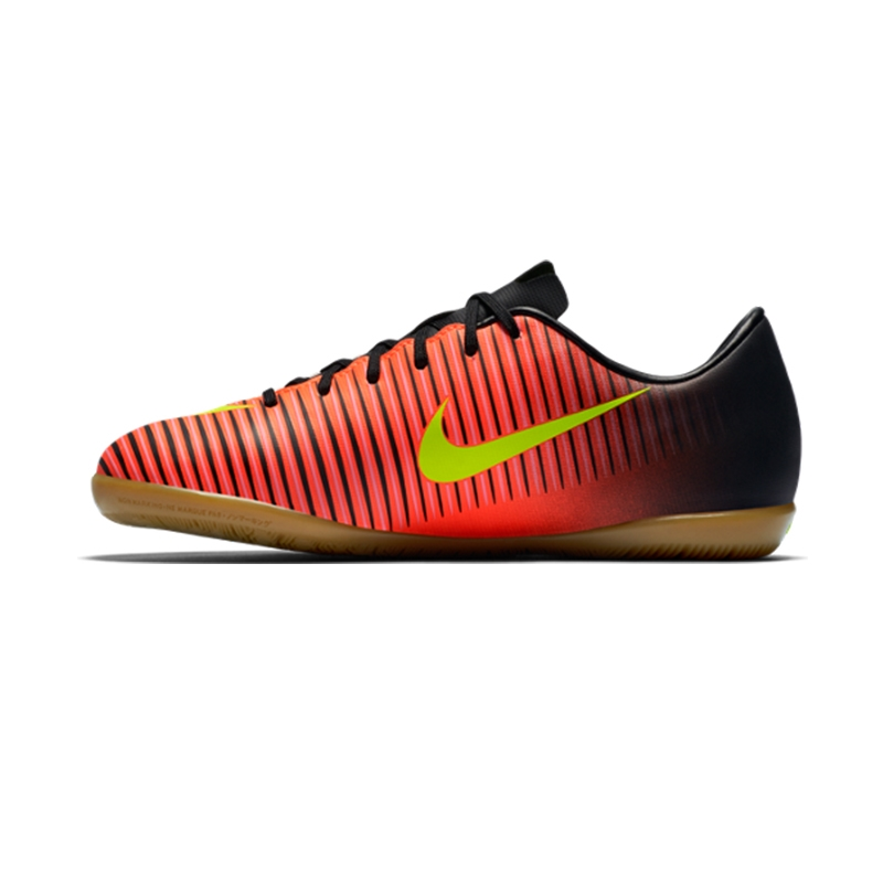 42e5ed0010 Nike Youth Mercurial Vapor XI Indoor Soccer Shoes (Total Crimson/Volt/Black/Pink  ...
