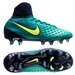 Nike Magista Obra II FG Youth Soccer Cleats (Rio Teal/Volt/Obsidian/Clear Jade)