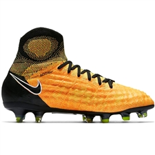 Nike Magista Obra II FG Youth Soccer Cleats (Laser Orange/Black/White/Volt)