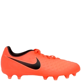 Nike Magista Opus II FG Youth Soccer Cleats (Total Crimson/Black/Bright Mango)