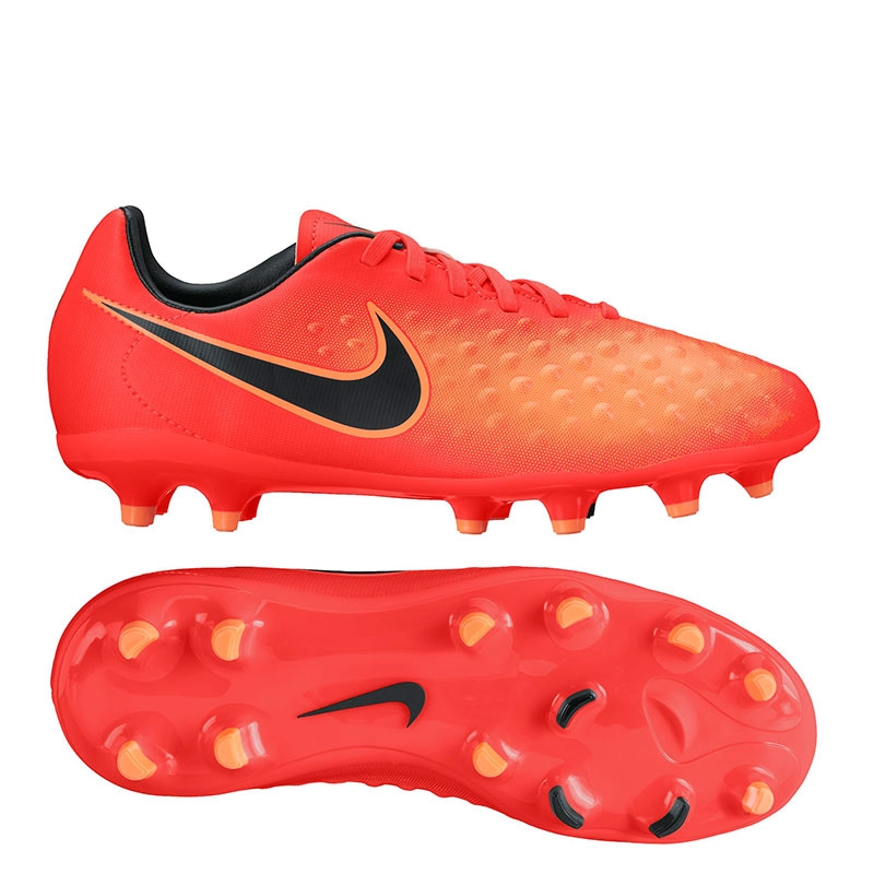 af4ccd86e2ab Nike Magista Opus II FG Youth Soccer Cleats (Total Crimson Black Bright ...