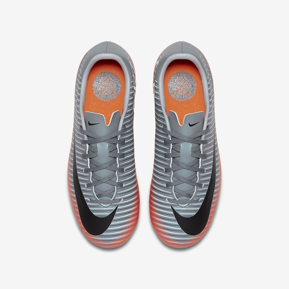 c952c153ade87 Nike Youth Mercurial Victory VI CR7 FG Soccer Cleats (Cool Grey ...