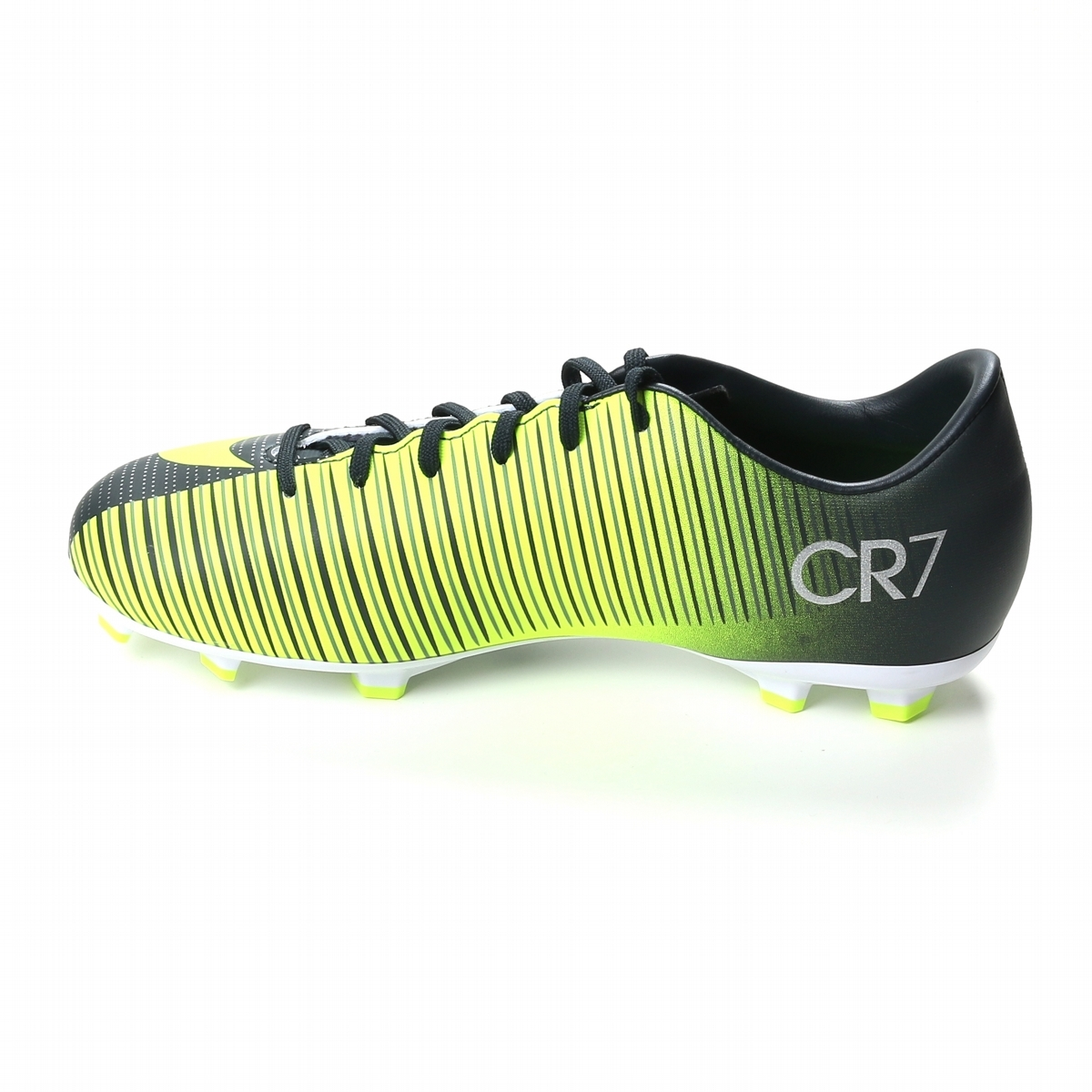 timeless design fc049 a8167 Nike Youth Mercurial Vapor XI CR7 FG Soccer Cleats  (Seaweed/Volt/Hasta/White)
